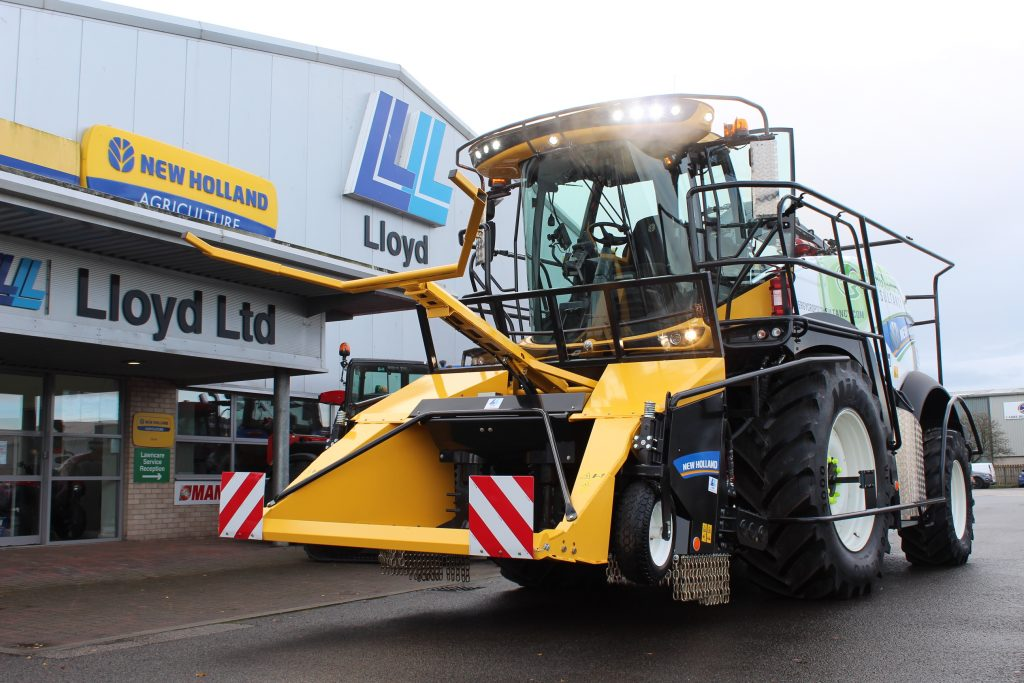New Holland Forage Harvester