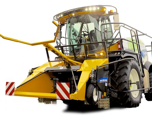ECC takes delivery of brand new New Holland Forage Harvester from Lloyd Ltd